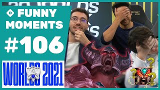 Funny Moments - Worlds 2021