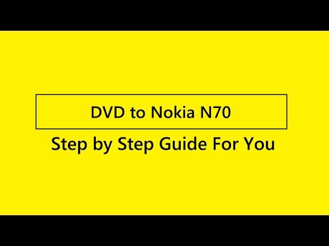 How To Rip DVD To Nokia N70? Mp3
