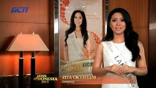 Zita Oktaviani for Miss Indonesia 2015