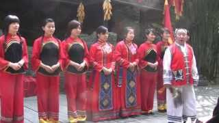 Video : China : YangTse 样子 River cruise - video
