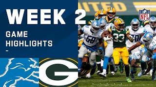 Lions vs. Packers Week 2 Highlights   NFL 2020