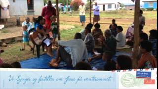 preview picture of video 'Julehilsen fra Fam Dyvik Haugstvedt på Fiji'