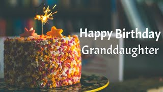 Happy birthday greetings for Granddaughter   Birthday wishes, blessings & messages for granddaughter