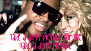 Taio Cruz Ft. Ke$ha & Fabulous - Dirty picture [Lyrics on screen] HD