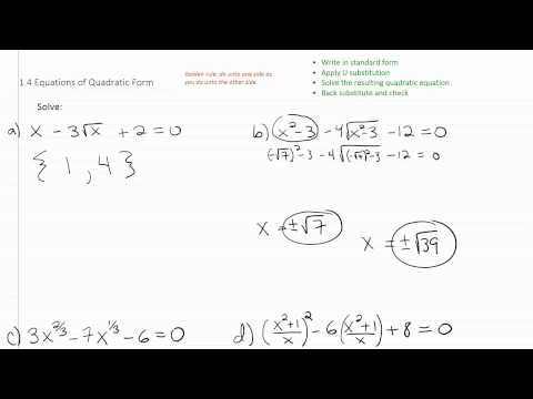 Solving Radical Equations p4