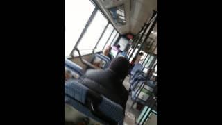 Драка водителей автобуса Караганды