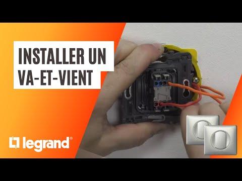 Comment brancher un interrupteur va et vient d'éclairage ?