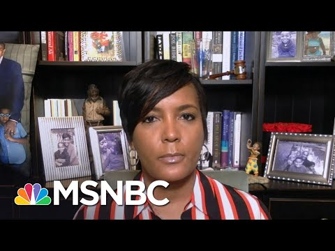 Keisha Lance Bottoms: Gov. Kemp's 'Leadership Has Been Irresponsible' | Andrea Mitchell | MSNBC