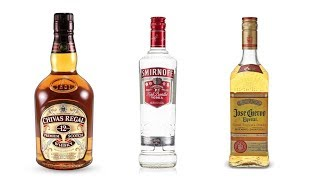 Top 10 Iconic Globally Well Known Alcohol Brands | What A Brand