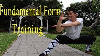 Kung Fu Wushu For Beginners Basic Form Training Tutorial Part 1