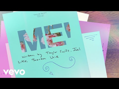 ME! (feat. Brendon Urie of Panic! At The Disco) (Lyric Video)