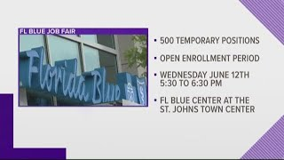 Florida Blue To Host Job Fair On Wednesday, 500 Jobs Available