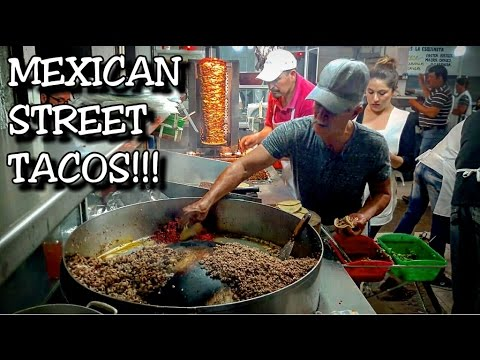 Mexico Street TACOS - BEST street food in the WORLD - MUKBANG