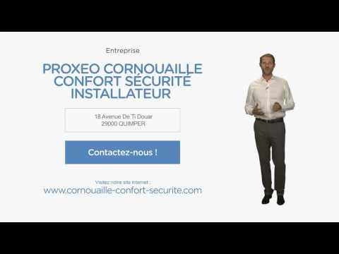 Alarmes, automatismes - Quimper (29) : Proxeo Cornouaille Confort Sécurité  Installateur