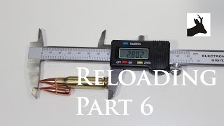 Roestalker's Reloading Part 6 - Bullet Seating - Elaboracja Amunicji Myśliwskiej Część 6