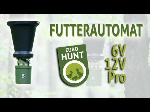 Automatický podávač krmiva Eurohunt digitálny 6V