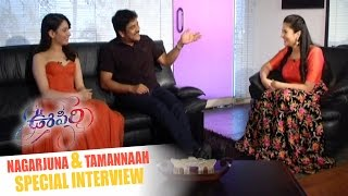 Nagarjuna and Tamannaah Special Interview
