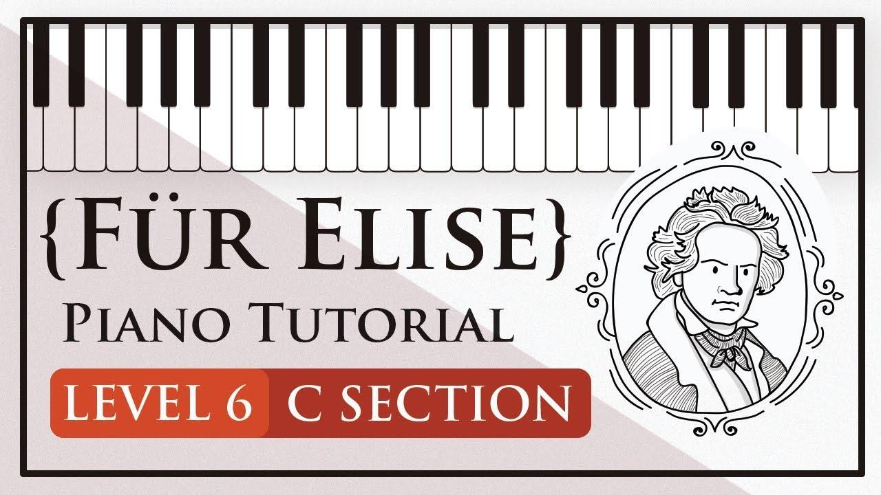 Für Elise – Level 6 (C section)