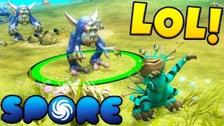 WHY DO THEY HAVE BUTT SPIKES - Spore #1