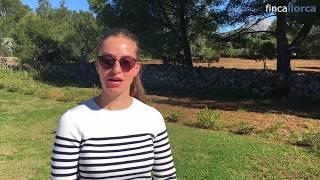 Video Antonia auf der Finca La Caseta Almadrava