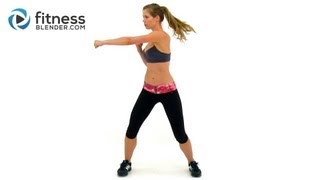 Kelli's Cardio Kickboxing Workout - Max Calorie Burn Workout with no Equipment by FitnessBlender