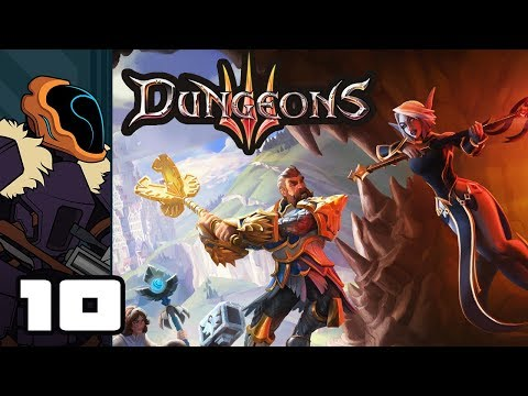 Let's Play Dungeons 3 - PC Gameplay Part 10 - The Night Is Dark And Full Of Monsters (видео)