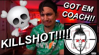 KILLSHOT REACTION! (EM BODIED)(RIP MGK)