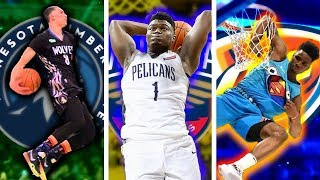The Best DUNKER From EVERY NBA Team (2019-20)