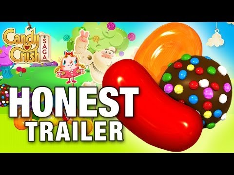 The Honest Game Trailer For Candy Crush Saga Is Justly Brutal