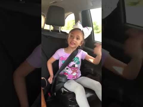 4 year old singing Truth Hurts by Lizzo!