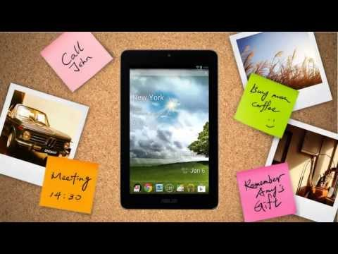 ASUS Tablet : Memo Pad ME172V-A1-GR 7-Inch 16GB Overview