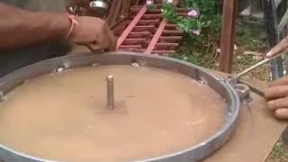 Homemade flat bar bending tool
