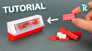 LEGO Food Display (Tutorial)