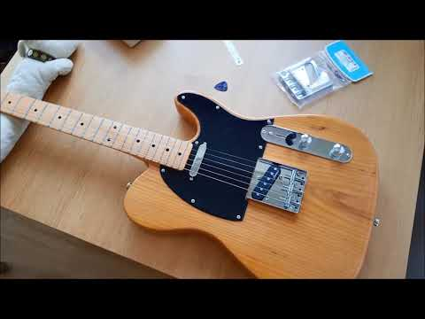 Download Harley Benton Te 52 Na Telecaster A Review Video 3GP Mp4