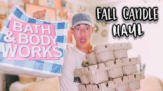 Bath And Body Works Fall Candle Haul 2020!!