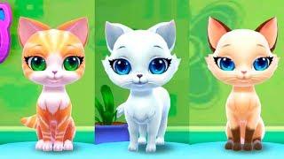 Игровой мультик про котят. Играем и ухаживаем за милым котенком