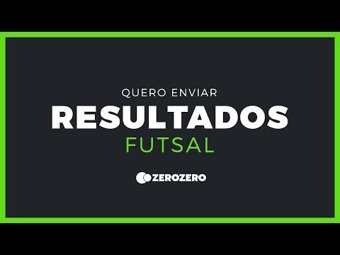 Como enviar resultados de futsal no zerozero?