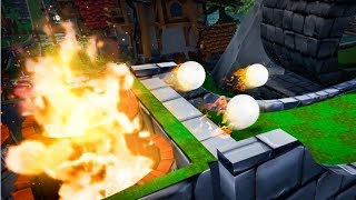 GOLFING WITH FIRE BALLS! (Golf It)