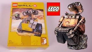 [LEGO] Wall-E en Lego set 21303 Disney Pixar - Studio Bubble Tea unboxing Lego Wall-E set 21303