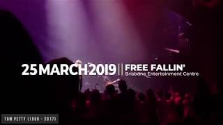 Free Fallin'   John Mayer & David Ryan Harris (LIVE In Brisbane 25 March 2019)