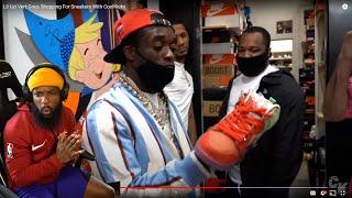 He Got HEAT! Lil Uzi Vert & Gunna Shopping For Sneakers w/ CoolKicks!