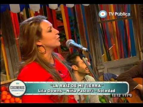 Raíz, Soledad Pastoruti, Niña Pastori y Lila Downs