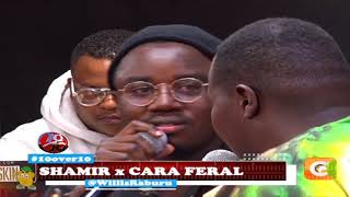 10 OVER 10 | Shamir and Cara Feral perfoming live