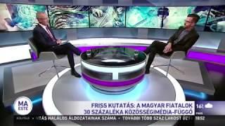 A MAGYAR FIATALOK 30%-A INTERNETFÜGGŐ [VIDEÓ!]