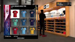 How to claim free NBA store item in NBA 2K20