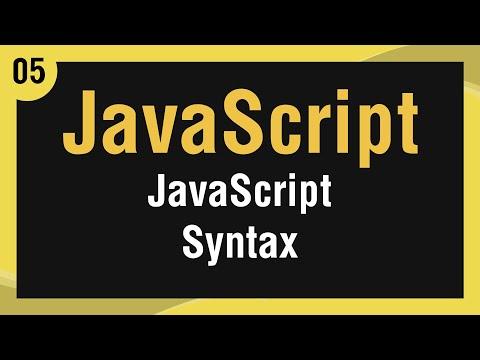 تعلم لغة JavaScript القائمة #1 الفديو #5