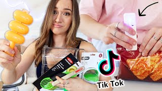 TIKTOK MADE ME BUY IT Part 2!! Amazon Kitchen Gadgets, Organization, and More!