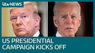 Donald Trump vs Joe Biden: The brutal digital 2020 US presidential campaign has begun | ITV News