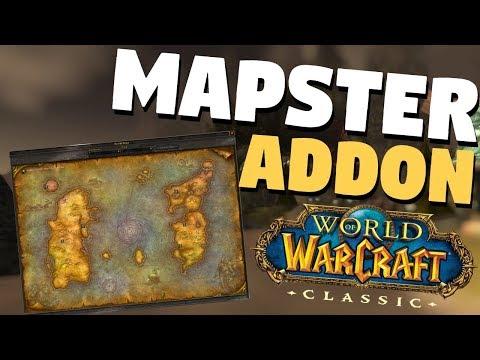 Mapster Classic WoW Addon Setup Guide | Map Style | World of Warcraft Classic