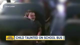 Kids bully 5-year-old with special needs on bus